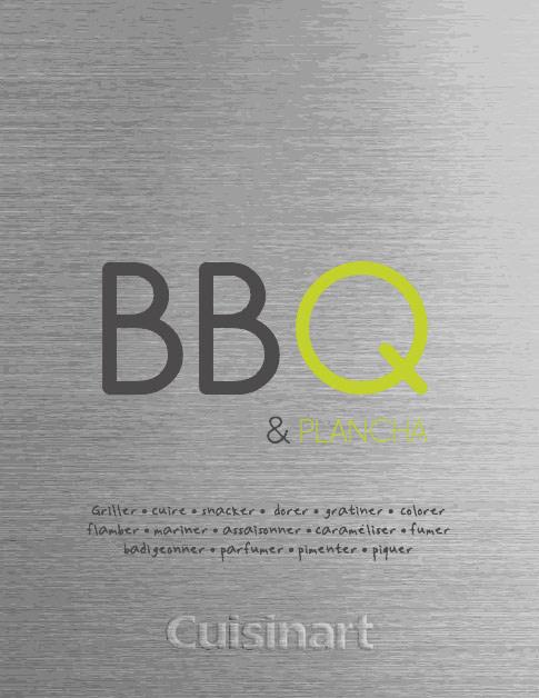 Cuisinart recettes pour barbecue